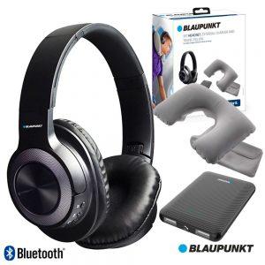 Auscultadores Bluetooth Apoio Pescoço E PoWerbank BLAUPUNKT - (BLP1730.133)