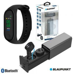 Auscultadores Bluetooth C/ Smartband Freq. V4.1 BLAUPUNKT - (BLP1590.133)