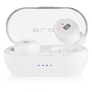 Auscultadores Earbuds Bluetooth Branco - (BTE100WH)