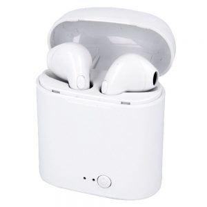 Auscultadores Earbuds TWS Bluetooth Branco - (TWS-I7SWH)