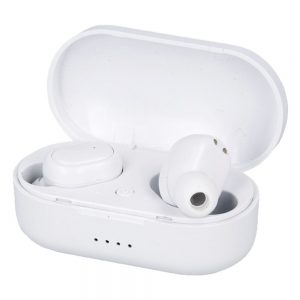 Auscultadores Earbuds TWS Bluetooth Branco - (TWS-IP010WH)