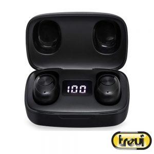 Auriculares Earbuds Bluetooth S/ Fios Bat Mic TREVI - (HMP12E04-BK)