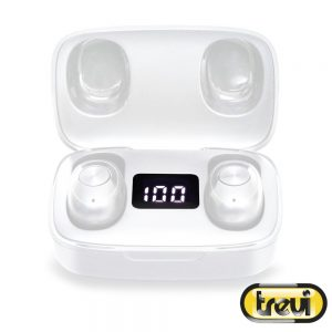 Auscultadores Earbuds Bluetooth S/ Fios Bat Mic TREVI - (HMP12E04-WH)
