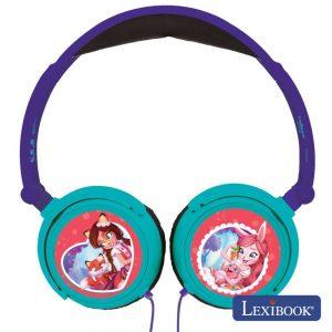 Auscultadores C/ Fios Stereo Enchantimals Lexibook - (HP015EC)
