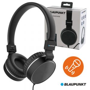 Auscultadores Stereo C/ Fios C/ Micro BLAUPUNKT - (BLP4570.133)