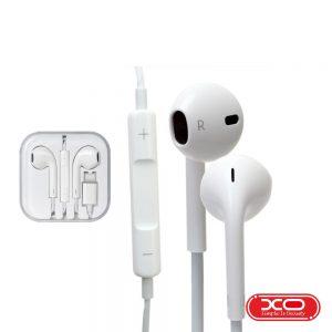 Auscultadores C/ Fios Stereo Branco XO - (EP2/WH)
