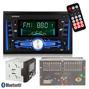 "Auto-Rádio 2din 7"" Mp3 50Wx4 C/ BT/FM/Aux/SD/USB - (AVH-9610)"