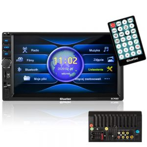 Auto-Rádio 4x 50W Bluetooth/AUX/FM C/ Controlo Remoto - (BC-9000)