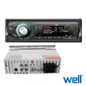Auto-Rádio Mp3 Wma 4x40W C/ FM/Aux/SD/USB - (RADIO-CAR-SHOW-WL)