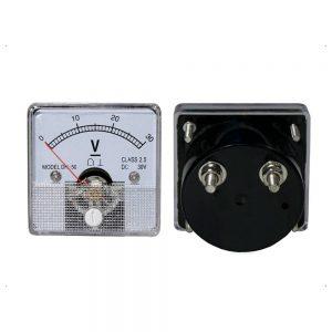 Voltímetro Analógico De Painel 30V DC - (AVM6030P)