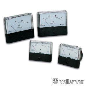 Voltímetro De Painel 300v AC VELLEMAN - (AVM70300)