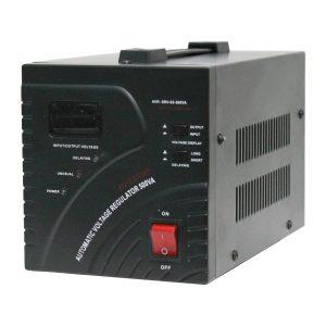 Estabilizador Automático Tensão 500va/300W C/ Servo Motor - (AVR-SRV02-500VA)