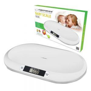 Balança Digital Branca 20kg P/ Bebés - (EBS019)