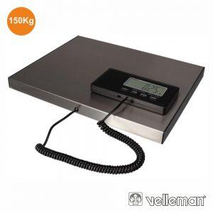 Balança Postal C/ Visor Digital 150kg / 50g VELLEMAN - (VTBAL502)