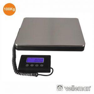 Balança Postal C/ Visor Digital 100kg / 50g VELLEMAN - (VTBAL501)