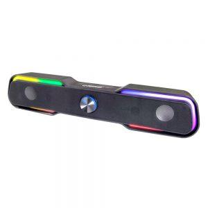 Barra Som S/Fios 2x3W LED RGB - (EGS101)