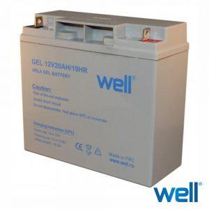 Bateria Gel 12V 20a - (BAT-LEADG-12V20AH)