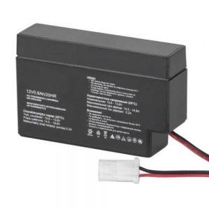Bateria Chumbo 12V 0.8mA - (BAT12V0.8AH)