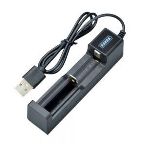 Carregador de Baterias 18650/16340/14500/10400/26650 - (BATCHARGER320A)