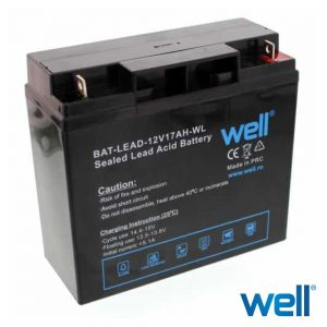 Bateria Chumbo 12V 17A WELL - (BAT-LEAD-12V17AH)