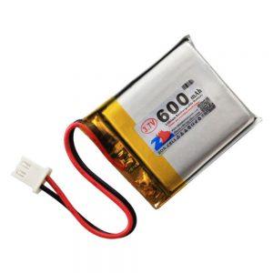 Bateria Lithium 3.7v 600ma C/ Ficha Ph2.0 - (BAT1366)
