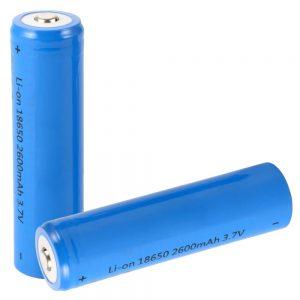 Bateria Lithium 18650 3.7V 2600MA Recarregável - (BAT18650/2.6B)