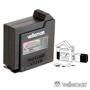 Testador De Baterias VELLEMAN - (BATTEST)
