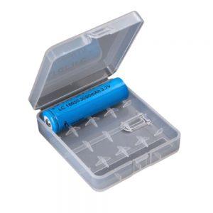 Caixa P/ 4 Baterias LI-ION 18650 Transparente - (BB18650A/4)