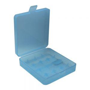 Caixa P/ 4 Baterias LI-ION 18650 Azul - (BB18650A/4BL)