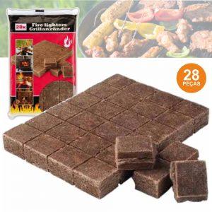 Acendalhas Ecológicas Tablete 28x - (BBQ524)