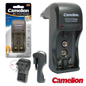 Carregador De Baterias Ni-Cd/Ni-Mh AAA/AA/9V CAMELION - (BC-1001A)