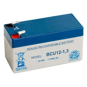 Bateria Chumbo 12V 1.3A - (BCU12-1