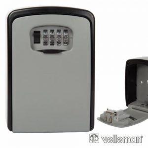 Chaveiro Parede C/ Bloqueio 4 Dígitos Grande VELLEMAN - (BG80051)