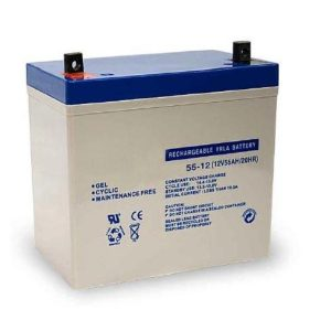 Bateria Chumbo Gel 12V 55A - (BGU12-55)