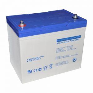 Bateria Chumbo Gel 12V 75A - (BGU12-75)