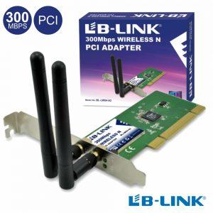 Adaptador Pci Wifi 802.11b/G/N 300mbps Lb-Link - (BL-LW04A2)