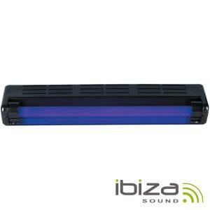 Suporte C/ Luz Negra 60cm 20W IBIZA - (BLACKLIGHT24-PL)
