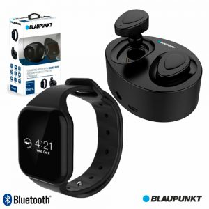 Auscultadores Bluetooth C/ Relógio Freq. V4.1 Dock BLAUPUNKT - (BLP1500.004)