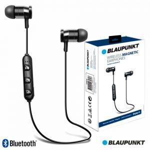 Auscultadores Bluetooth S/ Fios Stereo Bat Pretos BLAUPUNKT - (BLP4600.133)