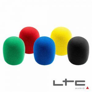 Conjunto 5 Esponjas P/ Microfone Windcap Sortidas - (BM-5)