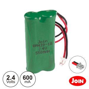Bateria Ni-Mh 2.4V 600ma Ficha Philips JOIN - (BM439-18)