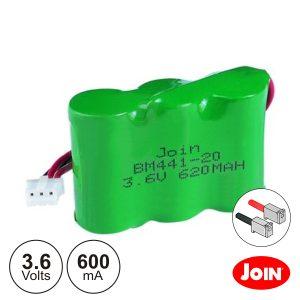 Bateria Ni-Mh 2/3AA 3.6V 600mA JOIN - (BM441-9)