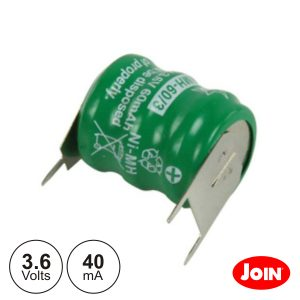 Bateria Ni-Mh 3.6v 40ma JOIN - (BM702-33)