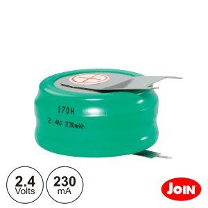Bateria Ni-Mh 2.4V 230ma Com Patilhas JOIN - (BM708-23)