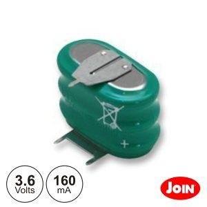 Bateria Ni-Mh 3.6v 160ma C/ Patilhas JOIN - (BM716-33)