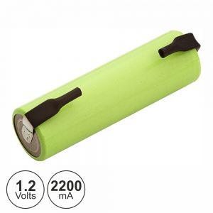 Bateria Ni-Mh AA 1.2V 2200ma C/ Patilhas - (BM831-83)