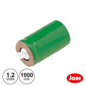 Bateria Ni-Mh 1/2a 1.2V 1000ma C/ Patilhas JOIN - (BM835-12)
