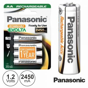 Bateria Ni-Mh AA 1.2V 2450ma 4x Evolta Panasonic - (BMP-HRR-3XXE/4BC)
