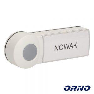 Botão De Campaínha P/ EMO/DISCO ORNO - (OR-DB-KH-120PD/W)