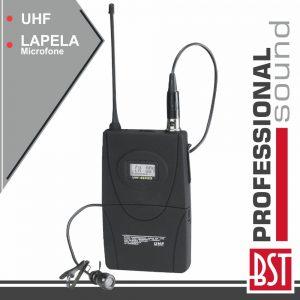 Microfone Lapela S/ Fios Uhf P/ Udr-110 E Uhf-2400 BST - (BP7)